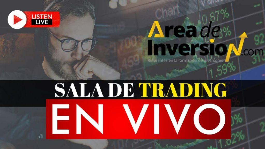 área de inversión.com sala de trading online