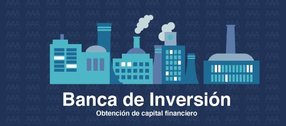 banca de inversión obtención de dinero