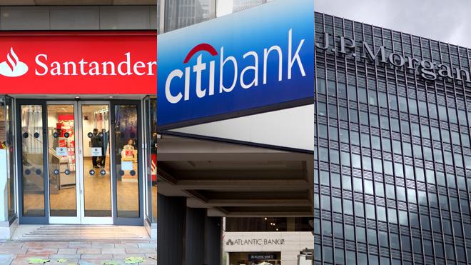 bancos de inversión santander citi jp morgan
