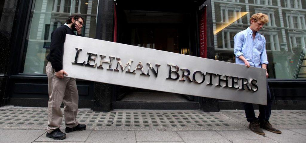 bancos de inversión historia lehman brothers quiebra