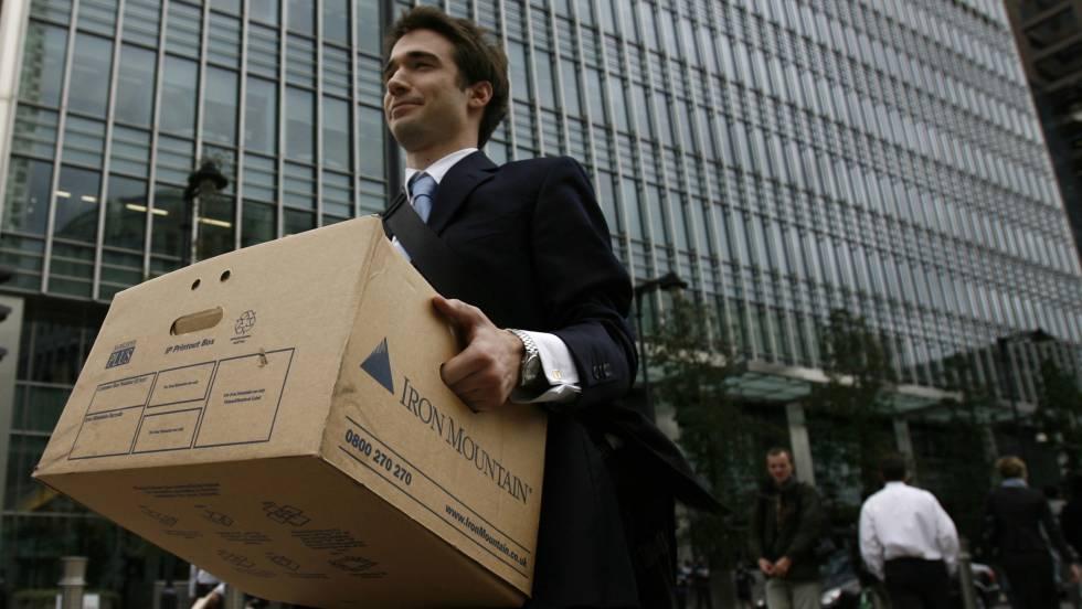 bancos de inversión lehman brothers desempleo