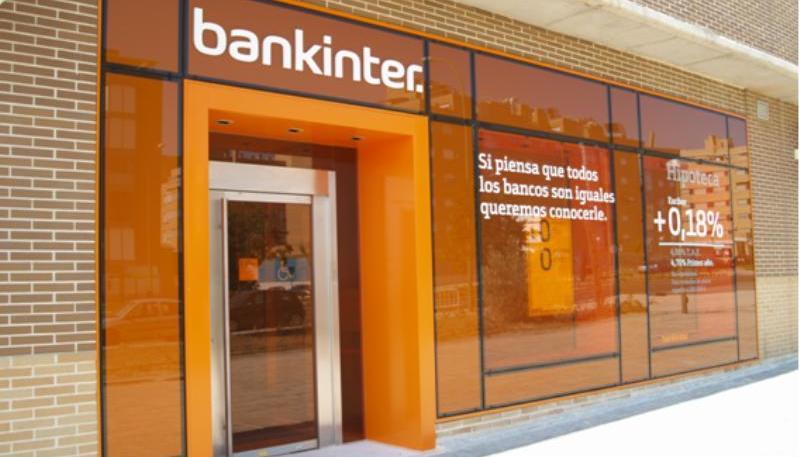 bankinter inversión fachada banco