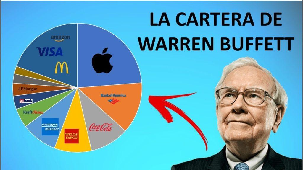 cartera de inversión warren buffett