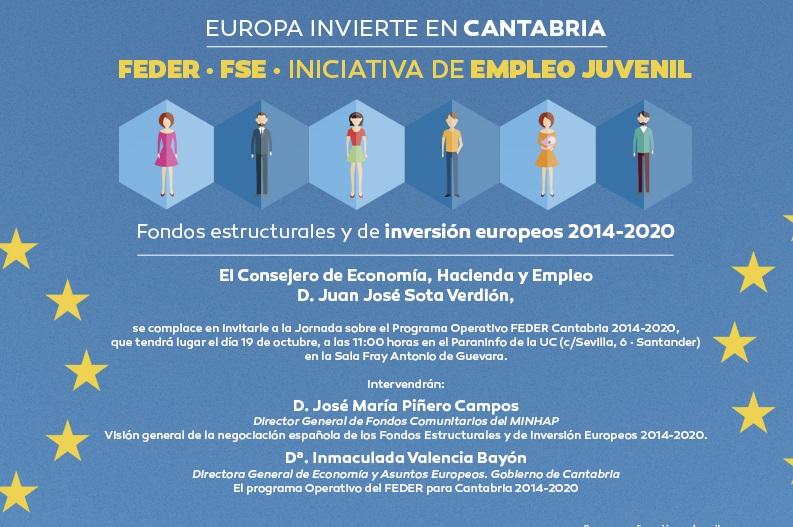 fondos estructurales y de inversión europeos cantabria 2014-2020
