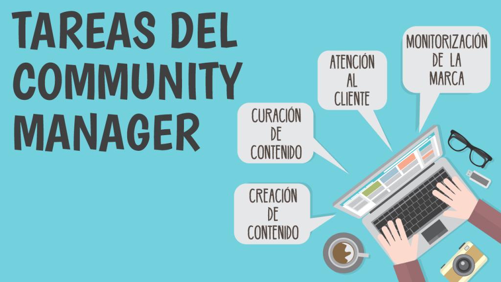 ideas de negocio sin inversión community manager