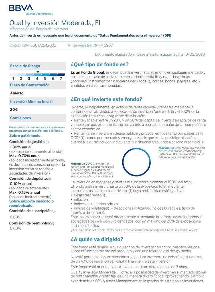 inversión moderada quality fi página 1