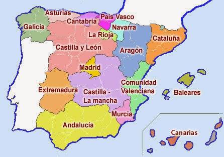 inversión por habitante comunidades autónomas mapa