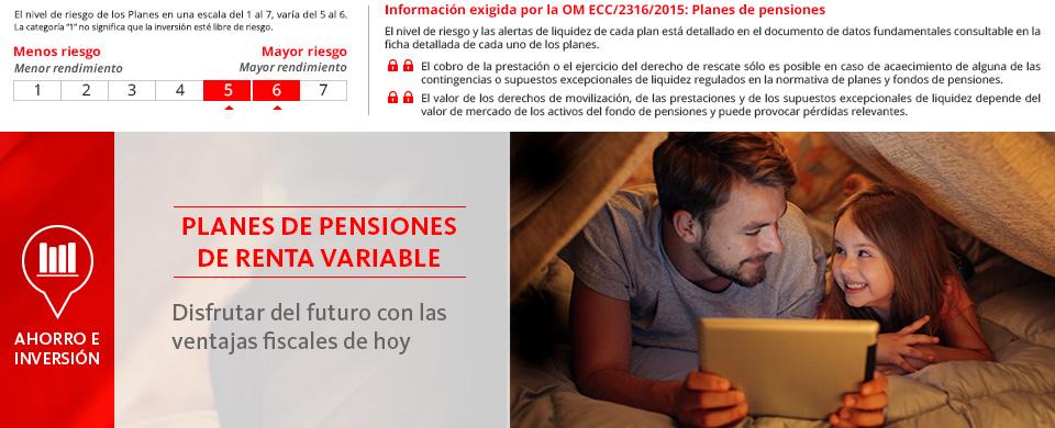 inversión santander pensiones