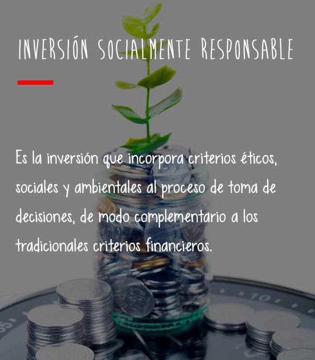inversión socialmente responsable definición