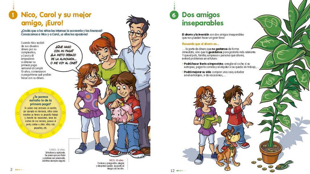 libro de economía ahorro e inversión nico carol euro