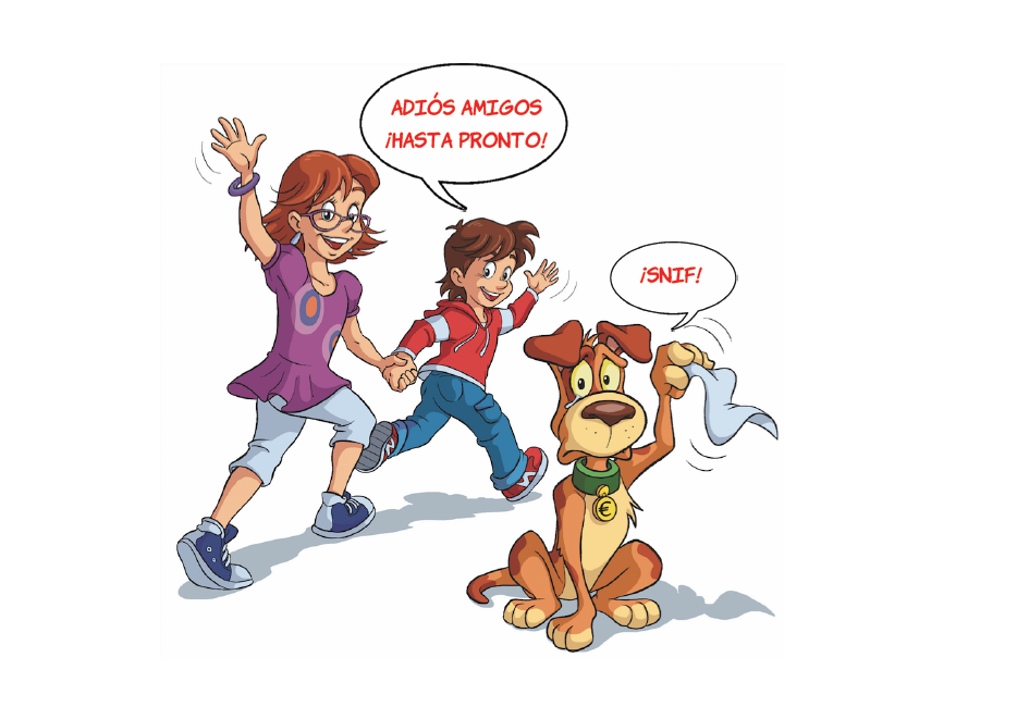 libro de economía ahorro e inversión niño niña perro