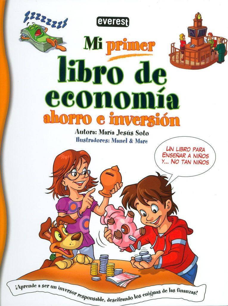 libro de economía ahorro e inversión caratula