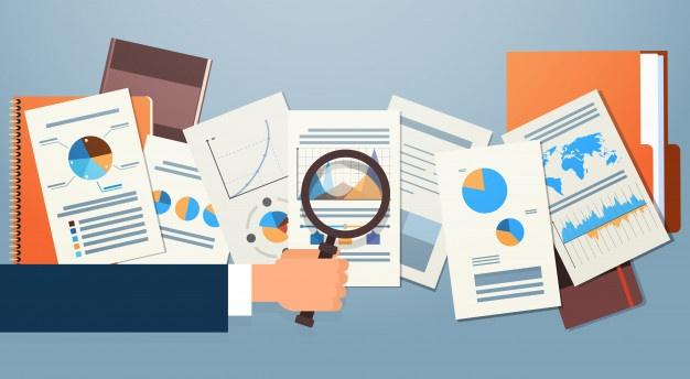 libro registro de bienes de inversión vector documentos