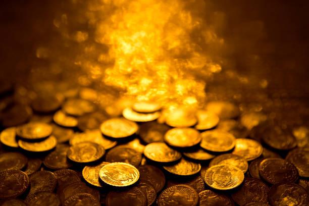 oro inversión monedas doradas