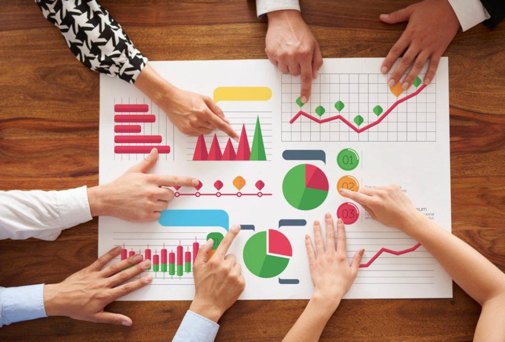 plan de inversión gráficos