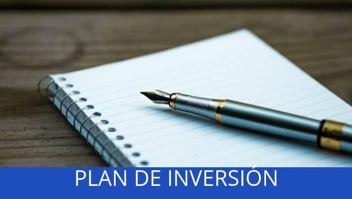 plan de inversión qué es